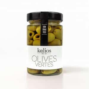 Olives vertes denoyautees - Kalios